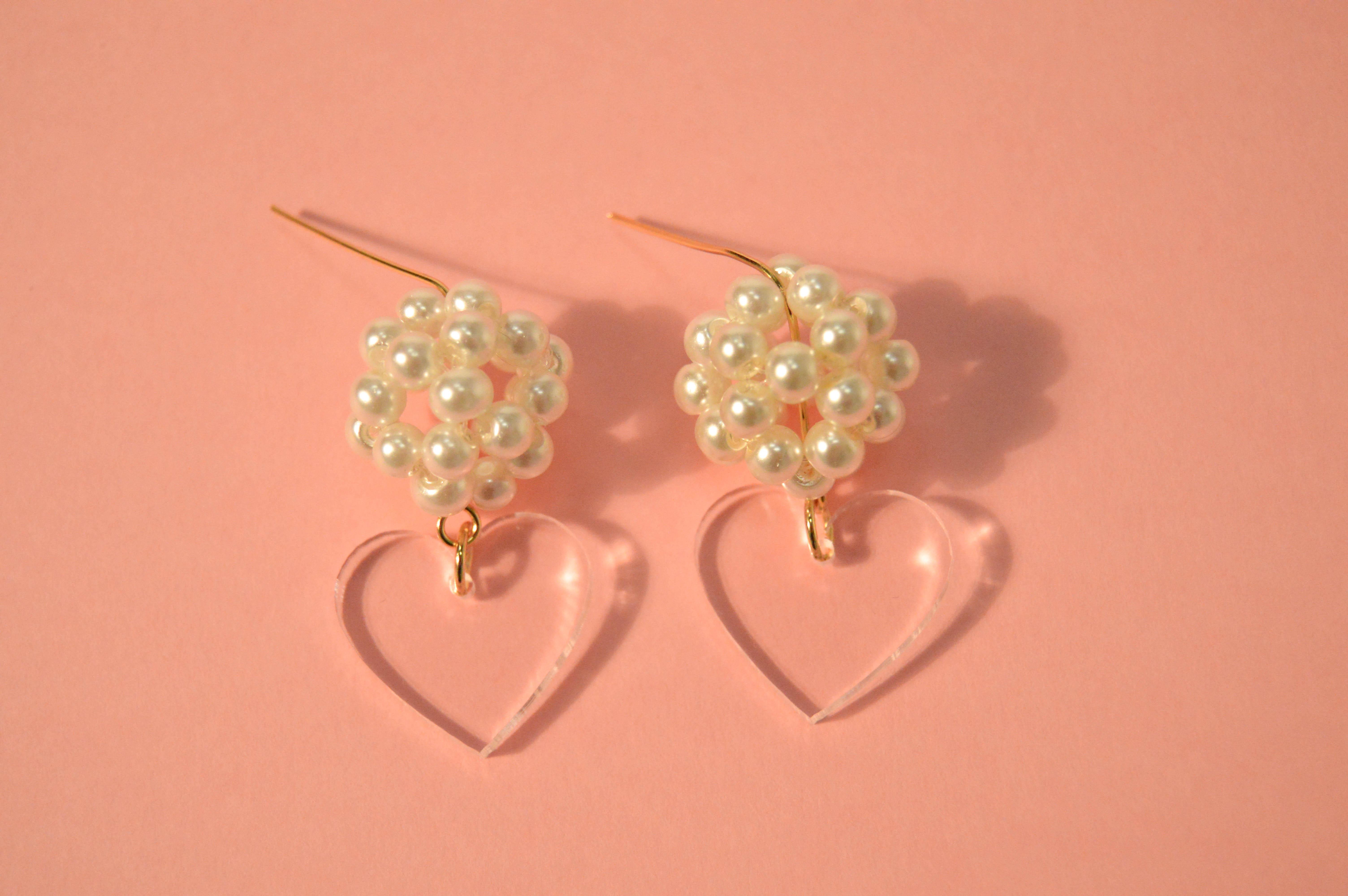 Boucles d'oreilles Lisa Transparente - KITX Laboratoire d'excentricité